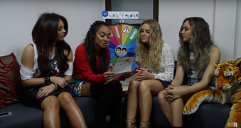 Dan & Phil's Wheel of Wonder with Little Mix