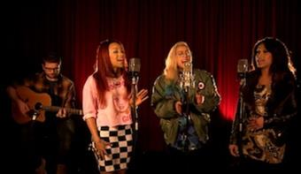 Stooshe 'Black Heart' - BRITs 2013 Sessions EXCLUSIVE