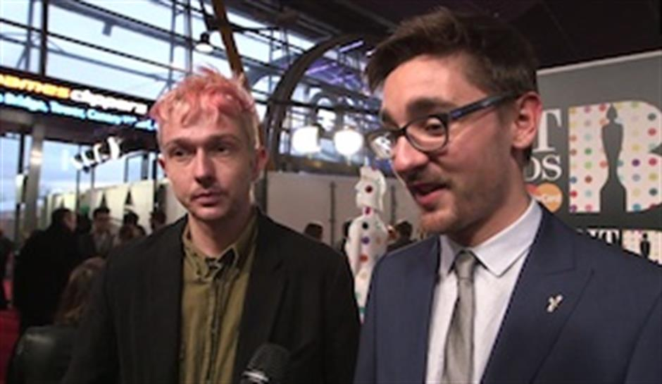 On the Red Carpet: Alt-J