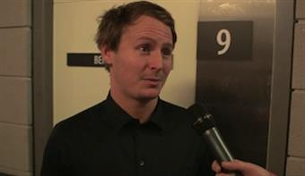 Zane Lowe  Backstage with Ben Howard at the 2013 BRIT Awards