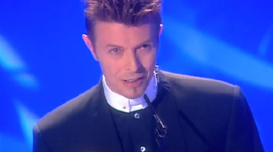 1996 - Outstanding Contribution - David Bowie