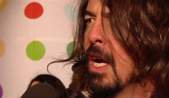 On the Red Carpet: Foo Fighters' Dave Grohl