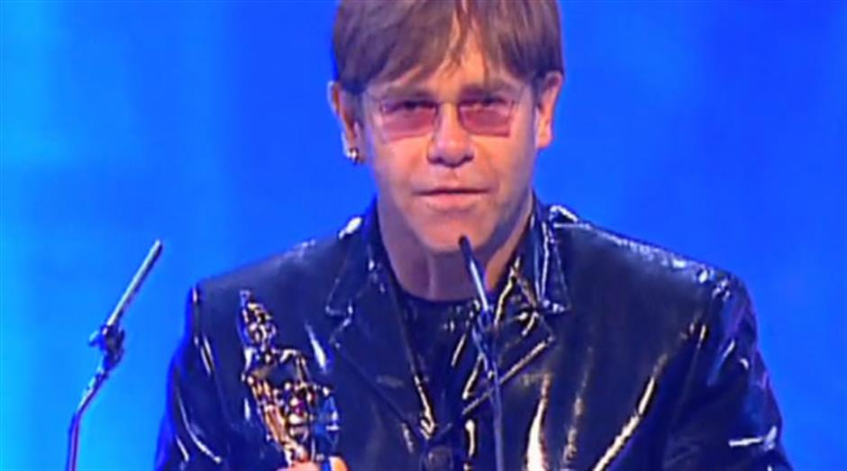 1995 - Outstanding Contribution - Elton John