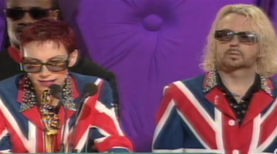 1999 - Outstanding Contribution - Eurythmics
