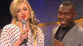 Fearne Cotton and Dizzee Rascal