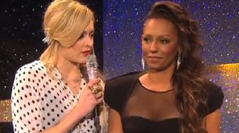 Fearne Cotton and Mel B