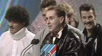 1985 - Best British Newcomer - Frankie Goes To Hollywood