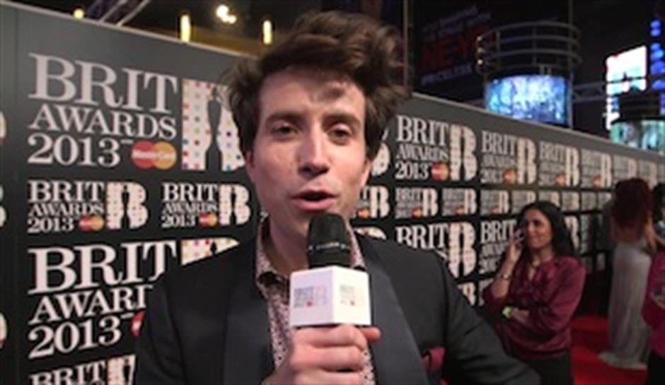 On the Red Carpet: Nick Grimshaw