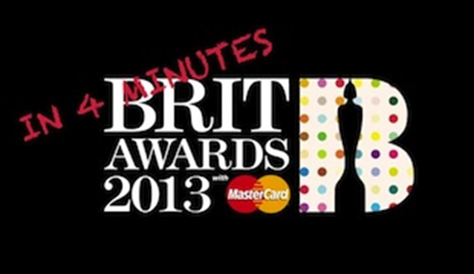The 2013 BRIT Awards...in 4 Minutes!