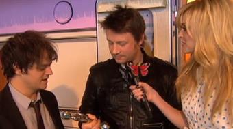 2009 - Fearne Cotton backstage with Jamie Oliver & Jamie Cullum