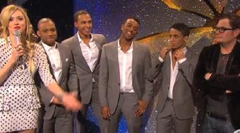 Fearne Cotton, JLS, Alan Carr