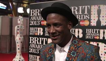 On the Red Carpet: Labrinth