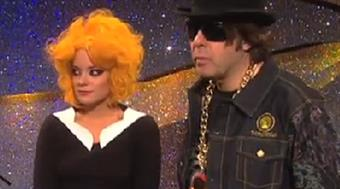 Lily Allen and Jonathan Ross