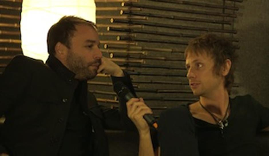 Zane Lowe Backstage with Muse