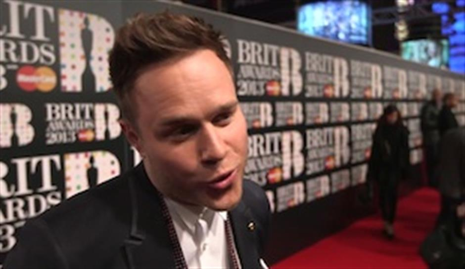 On the Red Carpet: Olly Murs