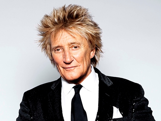 Sir Rod Stewart is closing the show!