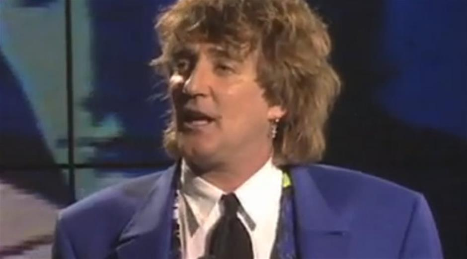 1993 - Outstanding Contribution - Rod Stewart