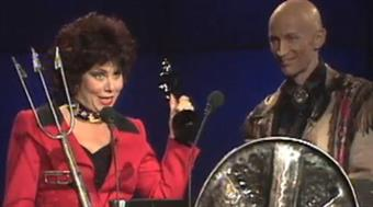 Ruby Wax and Richard O'Brien