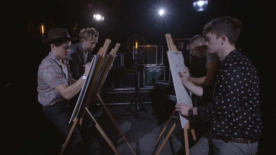 Pop Portraits with The Vamps
