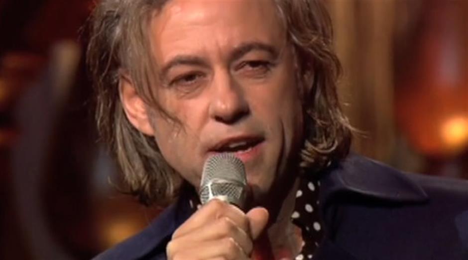 2005 - Outstanding Contribution - Bob Geldof