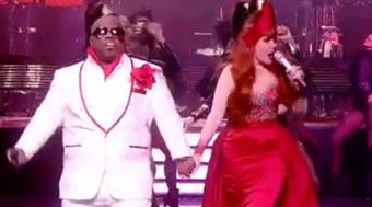 Cee Lo Green and Paloma Faith