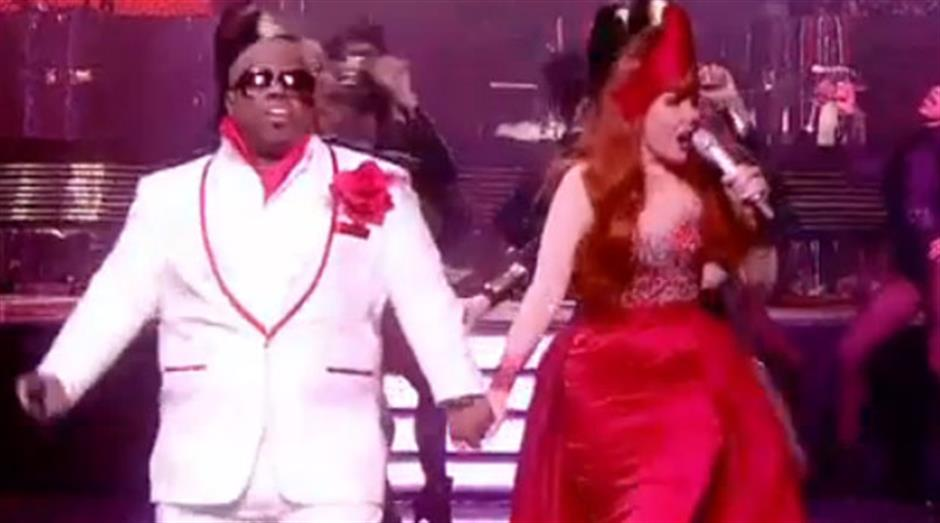 2011 - Performance: Cee Lo Green & Paloma Faith