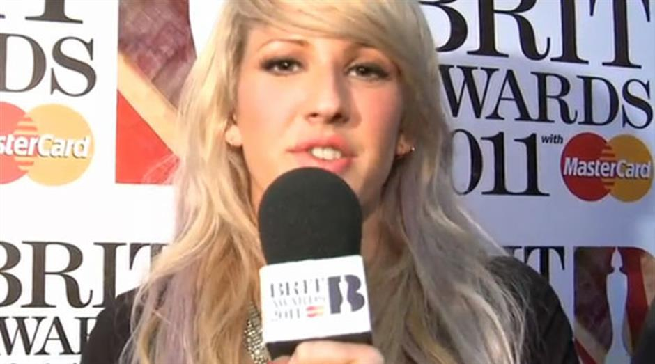 2011 Launch - Ellie Goulding red carpet interview