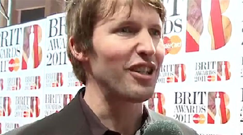 2011 - Red carpet Interview: James Blunt
