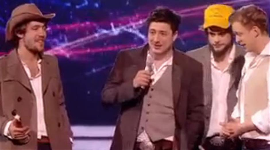 2011 - Mastercard British Album of the Year: Mumford & Sons