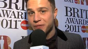 2011 launch: Olly Murs Red Carpet interview