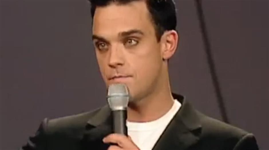 2001 - Best British Male - Robbie Williams