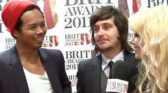 2011 - Red Carpet Interview: The Temper Trap