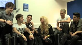 2011 launch: The Wanted backstage interview