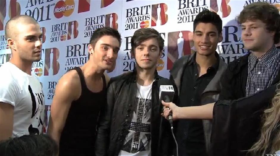 2011 Launch - The Wanted red carpet interview