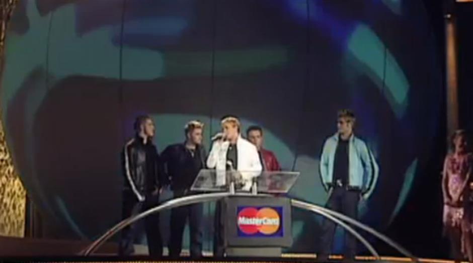 2001 - Best British Pop Act - Westlife